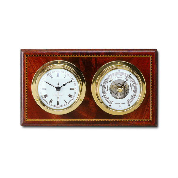Comitti Marine Barometer and Clock