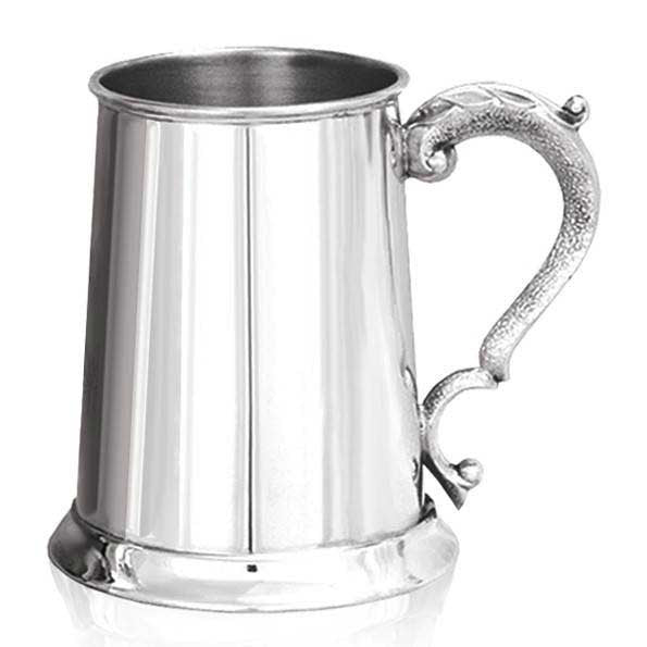 Pewter Georgian Tankard - 1 pint