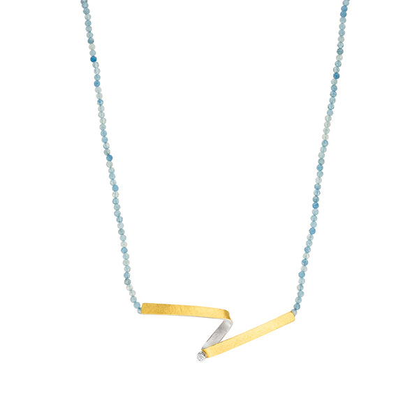 *NEW* MANU AQUAMARINE NECKLACE