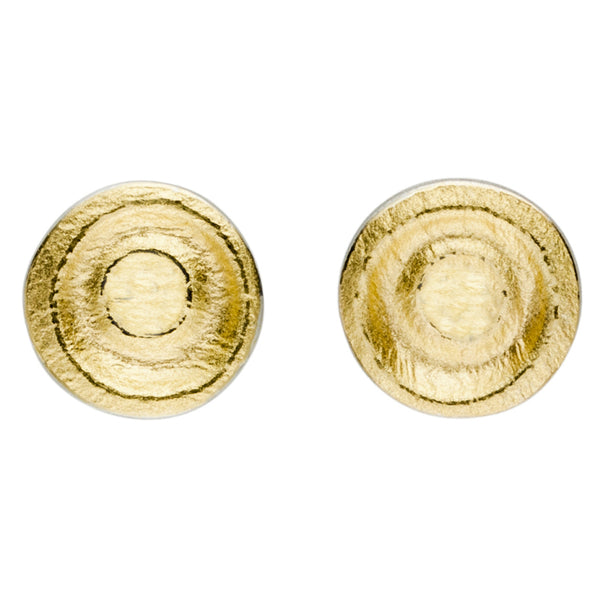 **NEW** MANU silver & gold stud earrings
