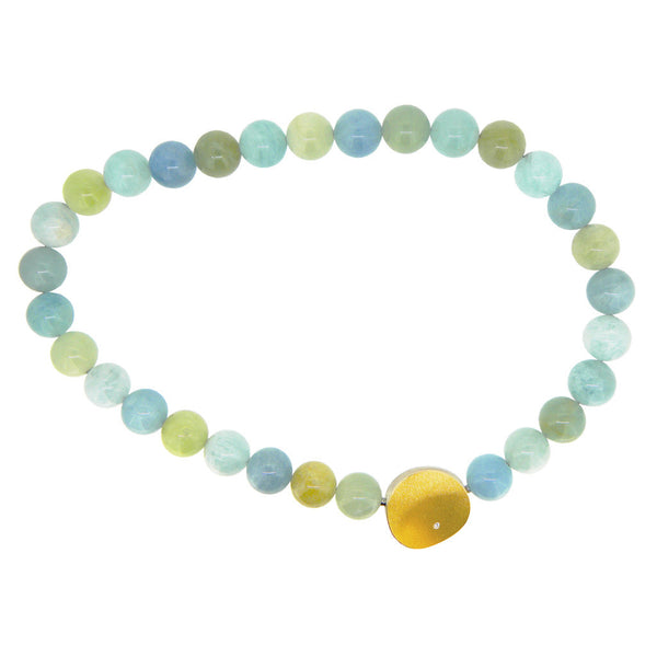 **NEW** MANU AQUAMARINE NECKLACE