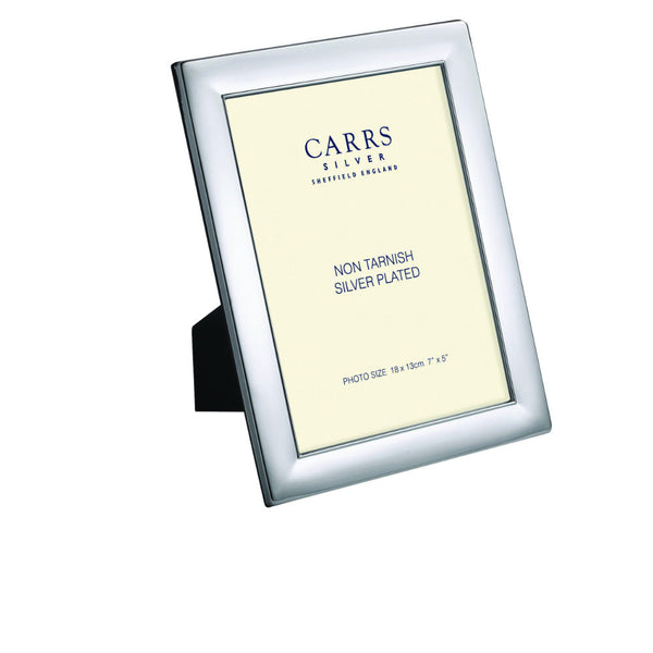 Silver Plated 5 x 3 1/2 Picture Frame