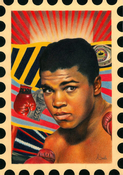 Pop Art - Muhammad Ali - Canvas Prints