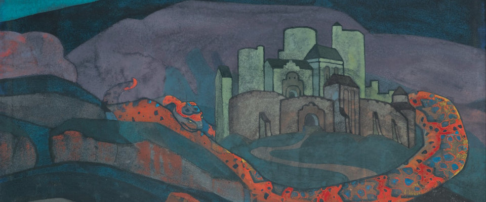The Doomed City by Nicholas Roerich | Buy Posters, Frames, Canvas  & Digital Art Prints