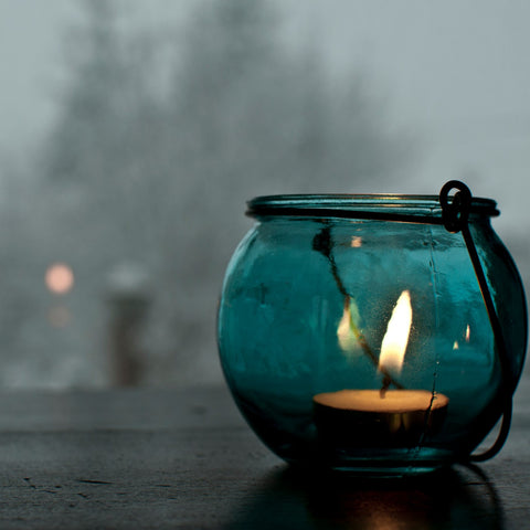 Candle by the Window