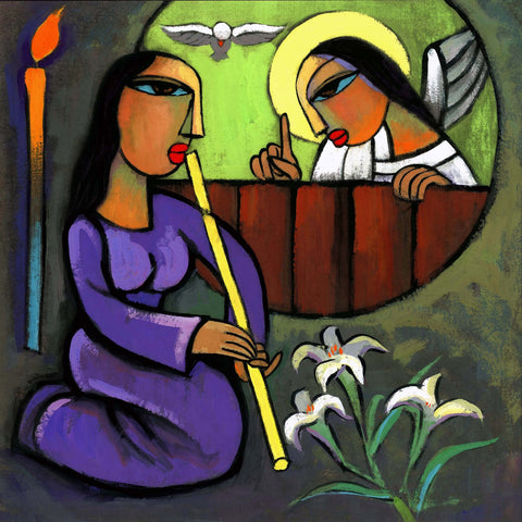 Annunciation by Sina Irani