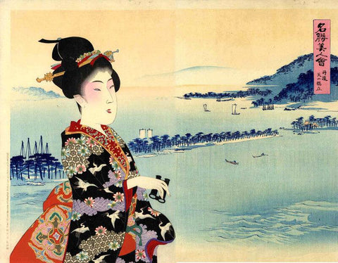 Floating World of Ukiyo-e - Posters