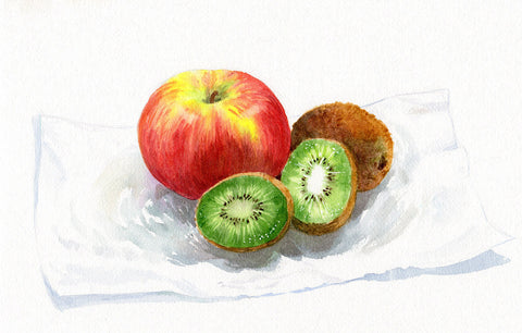 Art of Fruits and their Freshness by Sina Irani