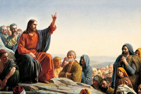 Jesus Giving Sermon