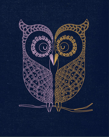 Best Gift for Valentines Day - Owl Love by Sina Irani