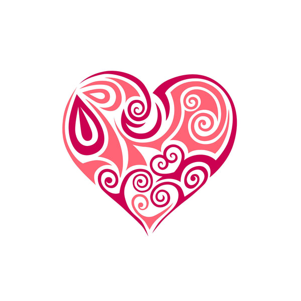Best Gift for Valentine's Day - Pink Heart - Art Prints