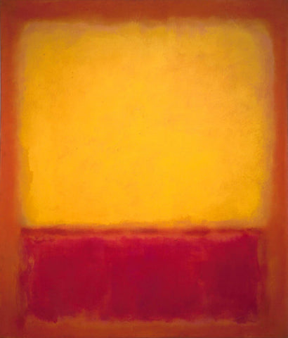 Yellow Over Purple by Mark Rothko