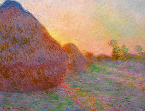 Haystacks  (Meules) - Claude Monet