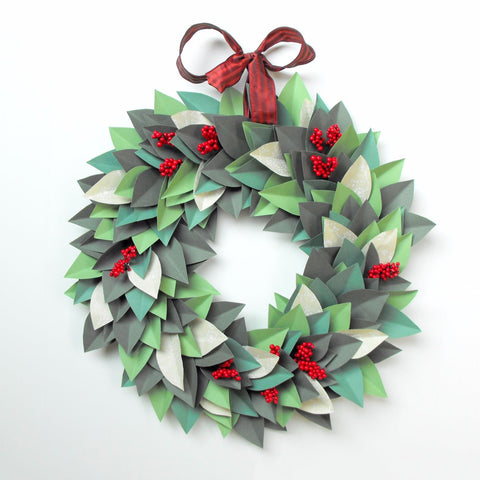 Christmas Wreath Art