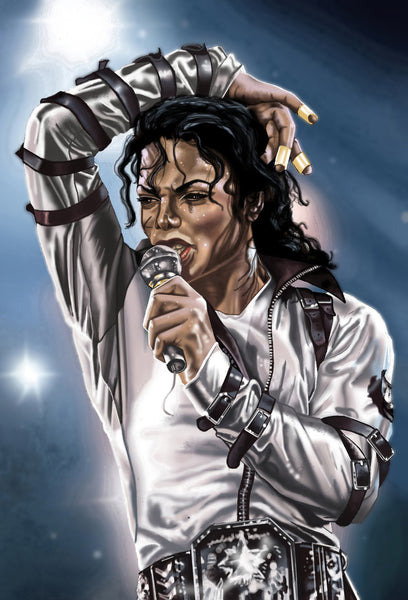 Michael Jackson - Art Prints