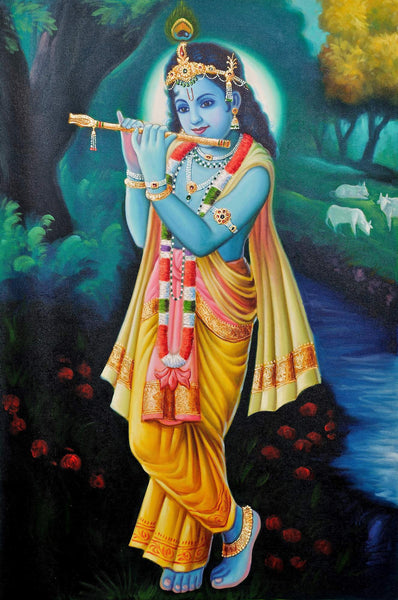 Lord Krishna - Art Prints