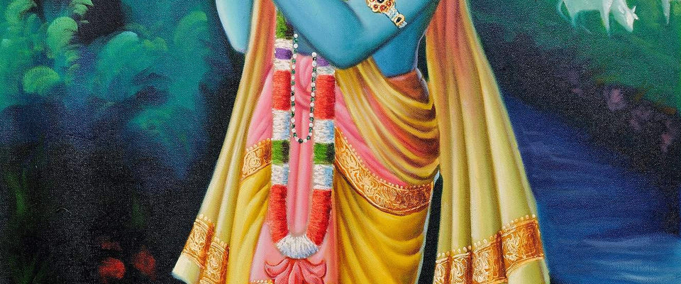Lord Krishna by Sina Irani | Buy Posters, Frames, Canvas  & Digital Art Prints