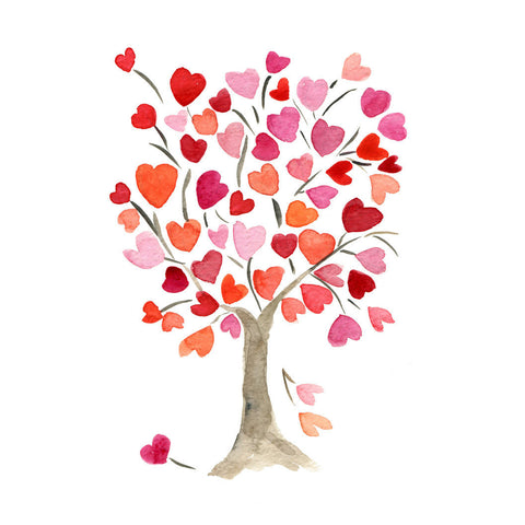 Heart Tree Painting by Sina Irani