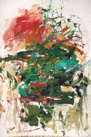 12 Hawks at 3 oClock - Joan Mitchell - Abstract Masterpiece Painting