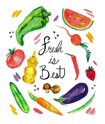 Fresh is Best by Sina Irani