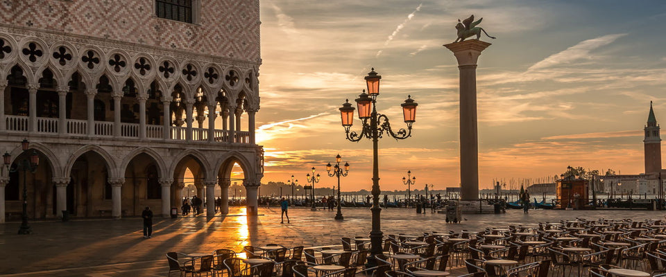 Sunrise On The Piazzetta San Marco by Rob Menting | Buy Posters, Frames, Canvas  & Digital Art Prints