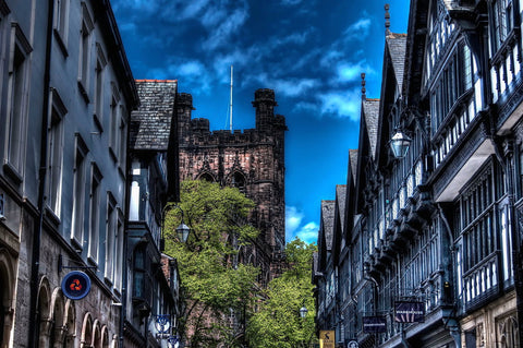 Chester City - Art Prints