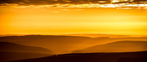 Sunrise On The Hills by Danny Moore