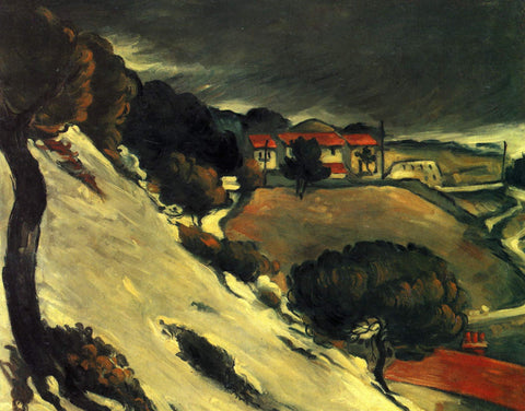 L'estaque, Melting Snow