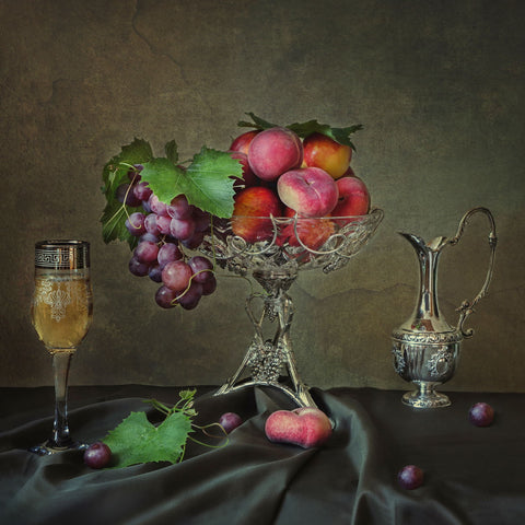 Fruit And Wine by Iryna Prykhodzka