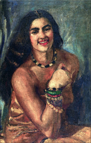 Self-Portrait by Amrita Sher-Gil