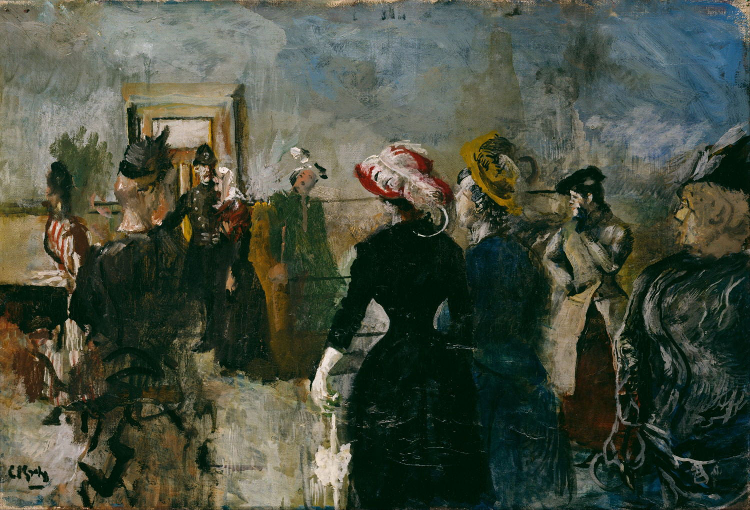 Christian Krohg | Buy Posters, Frames, Canvas, Digital Art & Large Size Prints Of The Famous Modern Master's Artworks