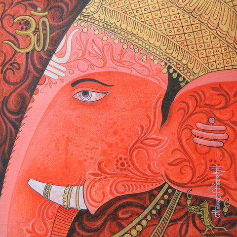 Ganesh by Chandru S Hiremath