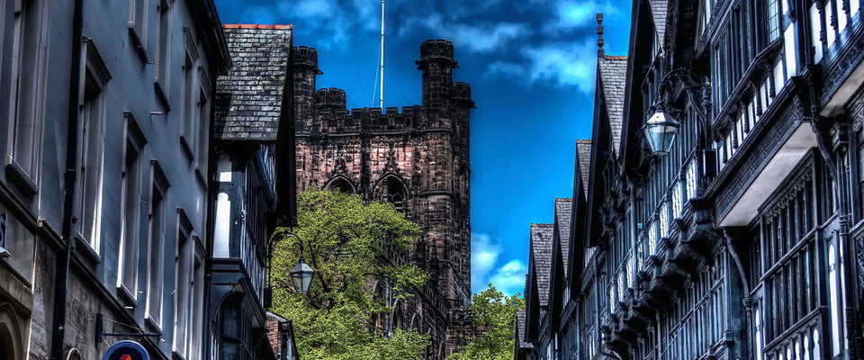 Chester City by William De Simone | Buy Posters, Frames, Canvas  & Digital Art Prints
