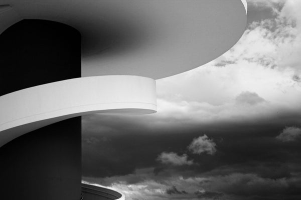 Niemeyer Center Aviles ,Spain - Canvas Prints