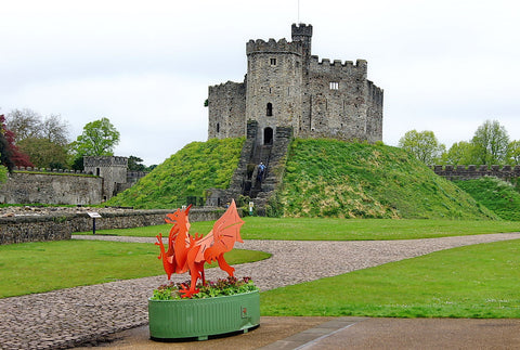 Cardiff Castle - Canvas Prints