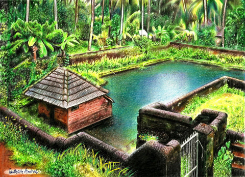 Natural Beauty Of Kerala by Santhosh Anchal