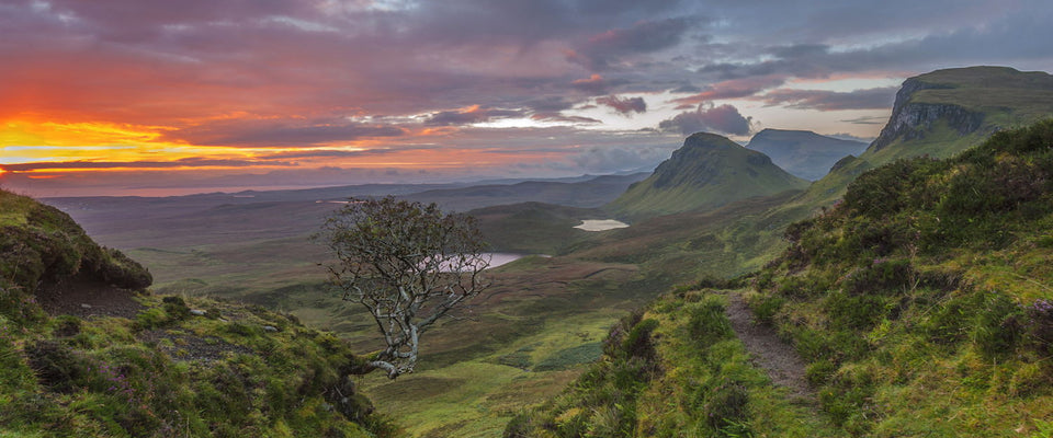 The Quiraing Isle Of Skye Scotland by Jamie Snr | Buy Posters, Frames, Canvas  & Digital Art Prints