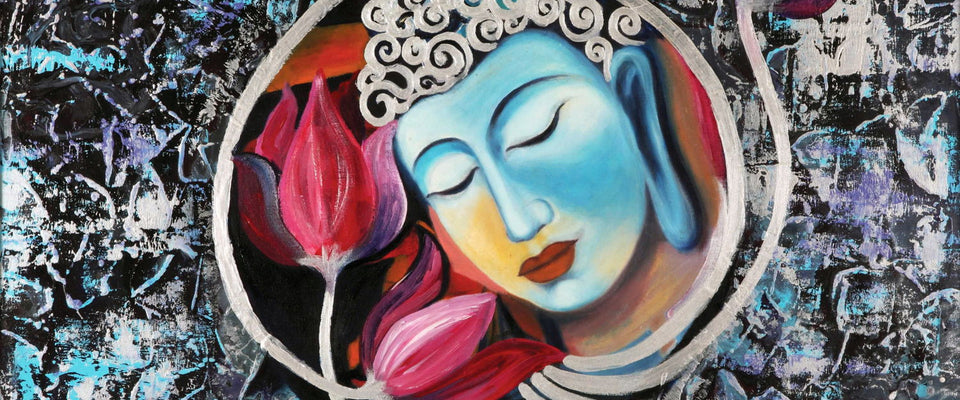 Blissful Buddha by Sina Irani | Buy Posters, Frames, Canvas  & Digital Art Prints