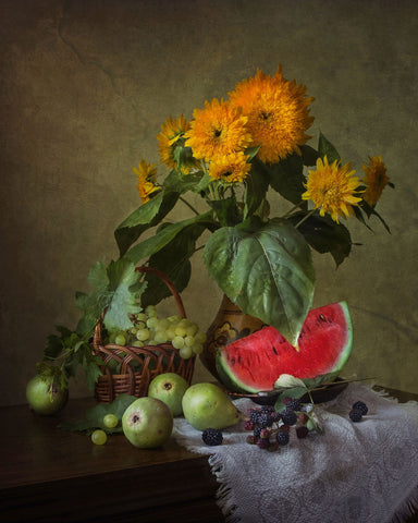 August Still Life by Iryna Prykhodzka