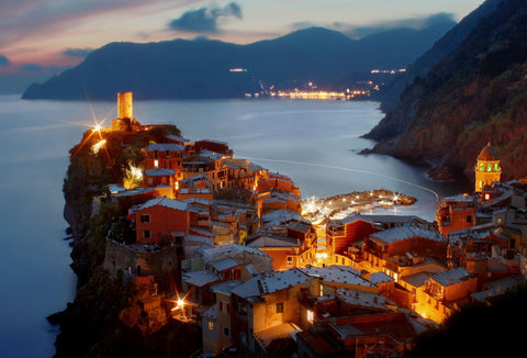 Glowing Vernazza by Paolo Lazzarotti Photo