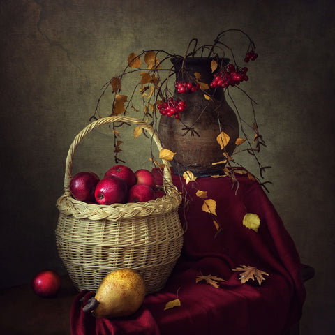 Autumn Still Life by Iryna Prykhodzka