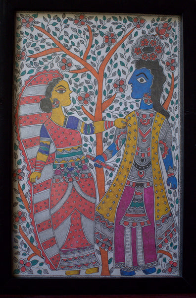 Radha Krishna by Poornima C | Tallenge Store | Buy Posters, Framed Prints & Canvas Prints