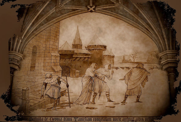 Painting in Cardiff Castle - Art Prints