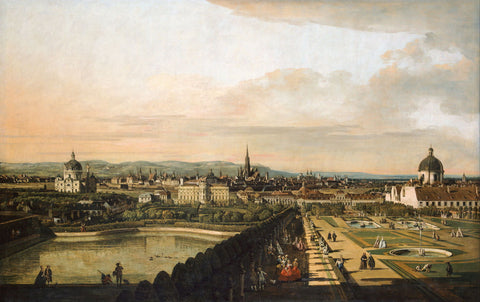 Vienna Viewed From The Belvedere Palace