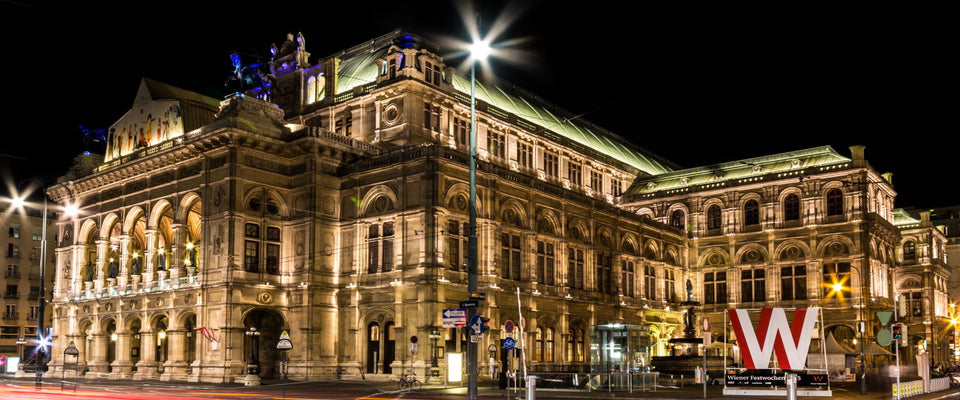 Vienna Opera At Night by Christoph Reiter | Buy Posters, Frames, Canvas  & Digital Art Prints