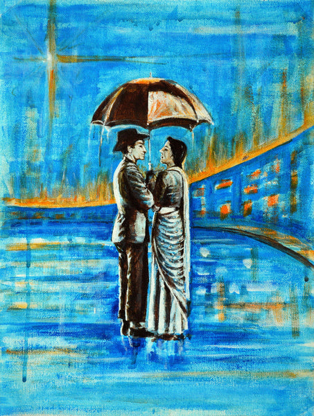 Artwork of Shree 420 by Usha's Fine Art Creations