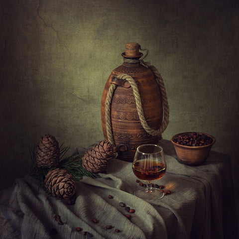 About Cedar Tincture by Iryna Prykhodzka