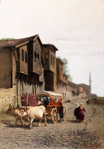 The Koçu Cart by Achille Befani Formis