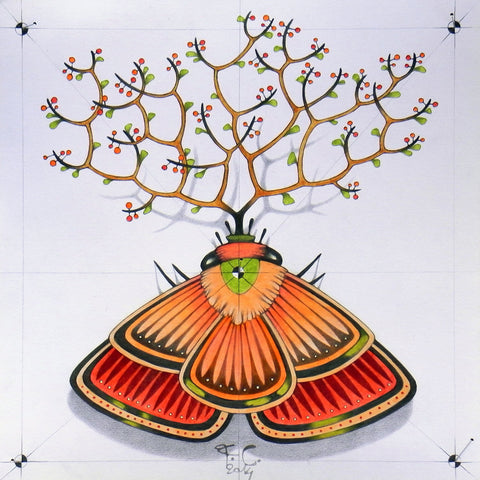 Tree Butterfly - Posters by Federico Cortese