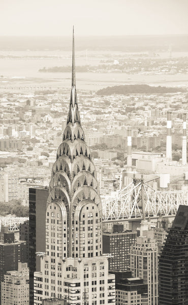 NY Chrysler Building - Canvas Prints